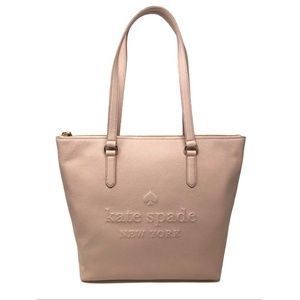 Kate Spade Larchmont Ave Logo Penny Tote Bag